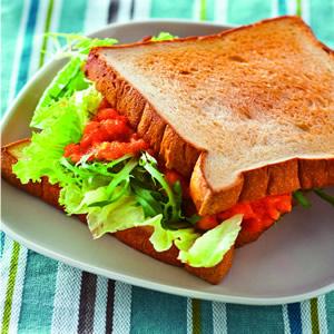 明太子沙拉三明治