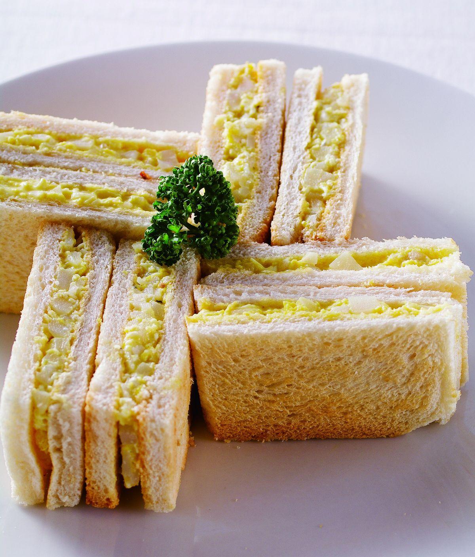 食譜:馬鈴薯嫩蛋三明治
