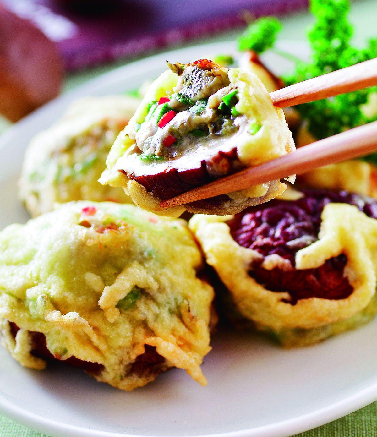 食譜:鮮蚵香菇丸