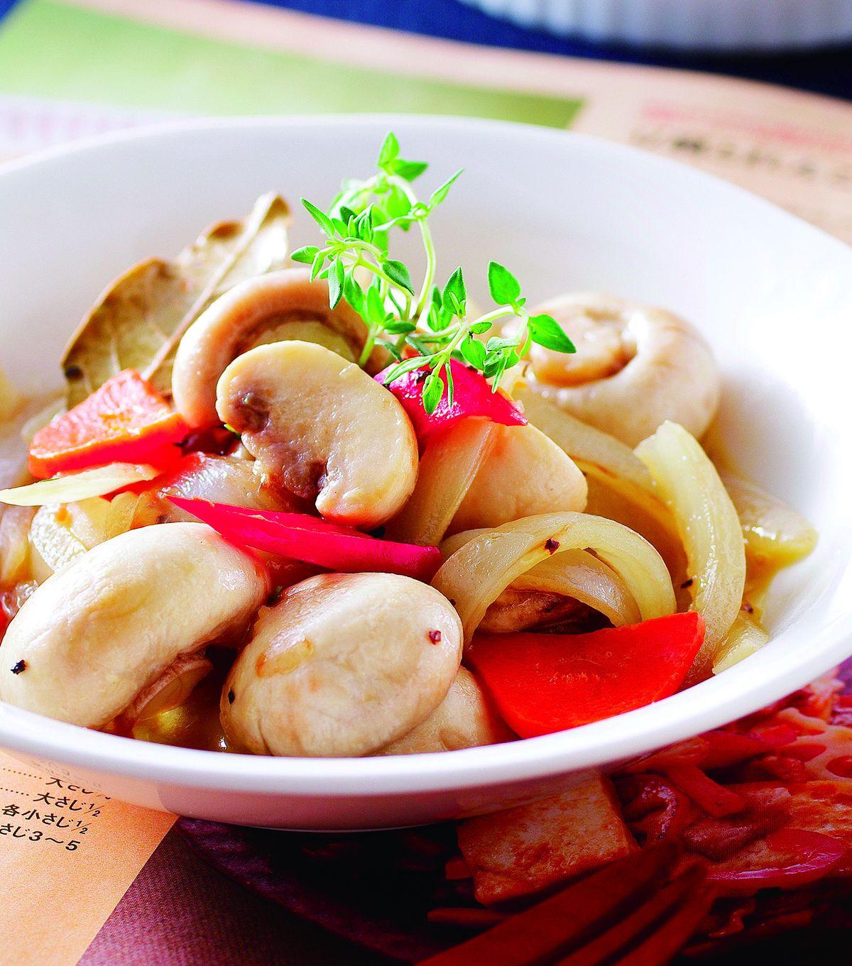食譜:百里香奶油燴蘑菇