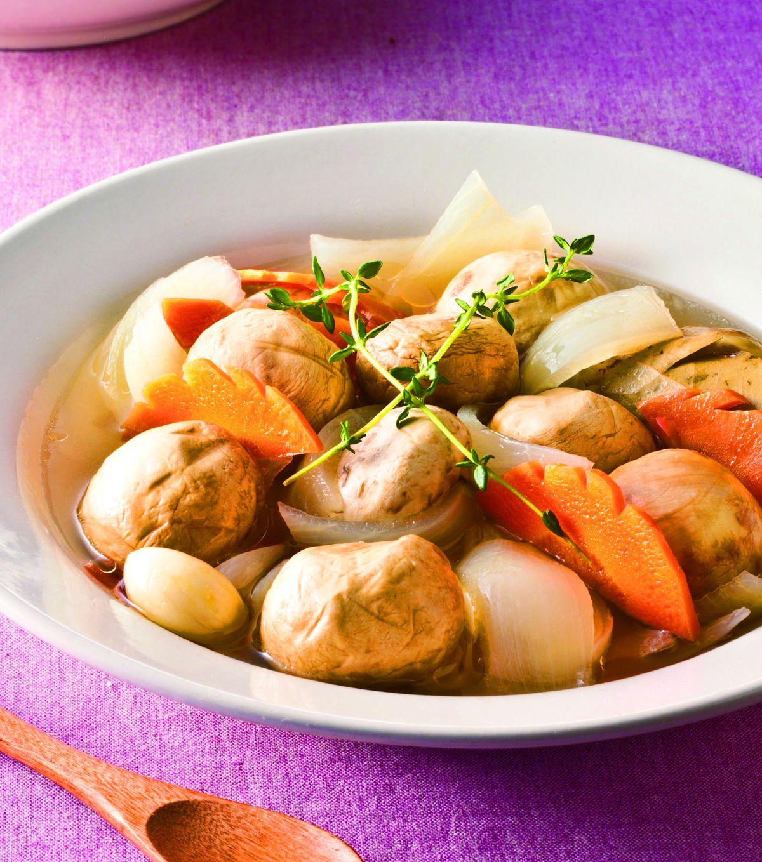 食譜:義大利醋拌蘑菇