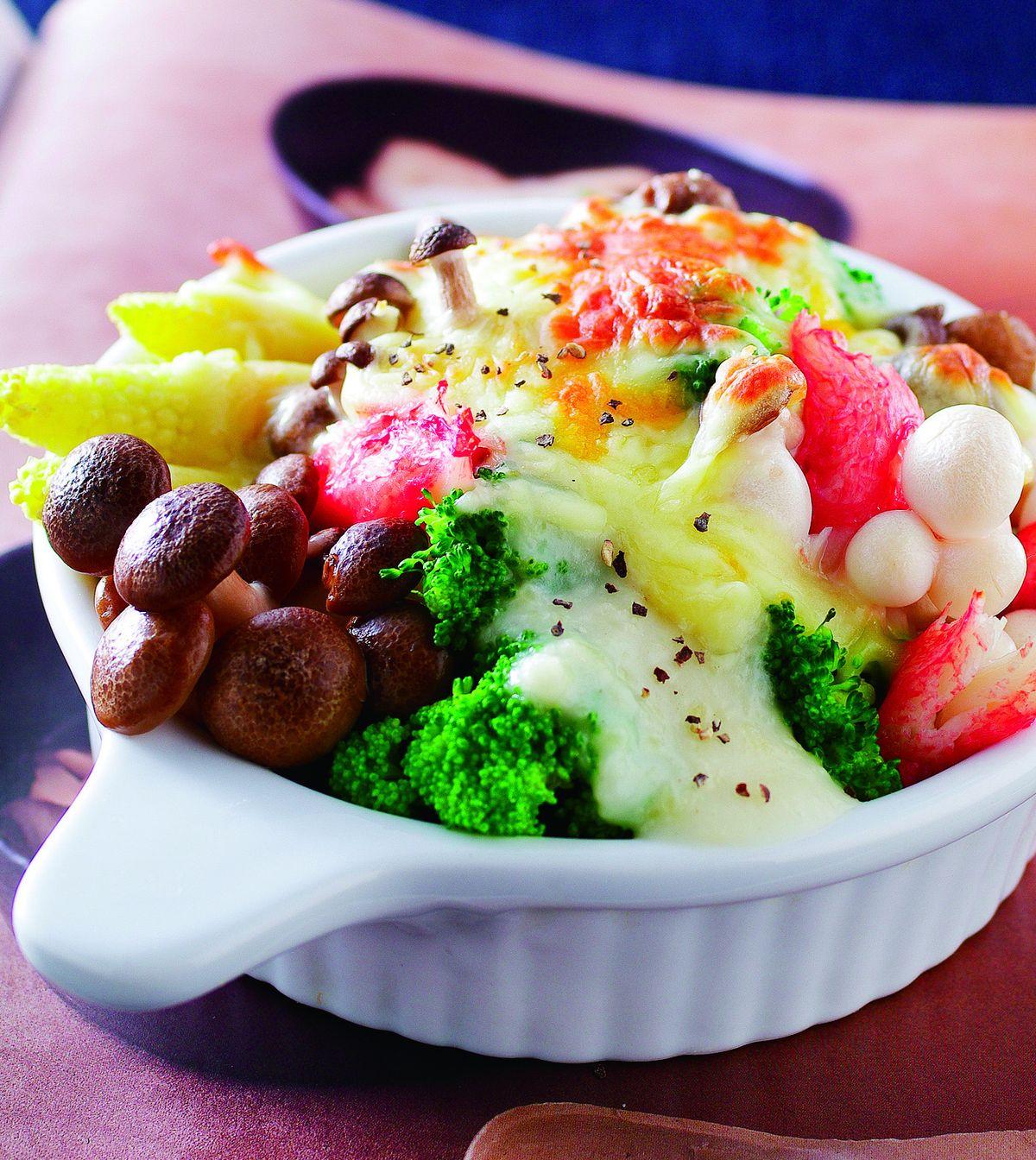 食譜:焗烤鴻禧菇
