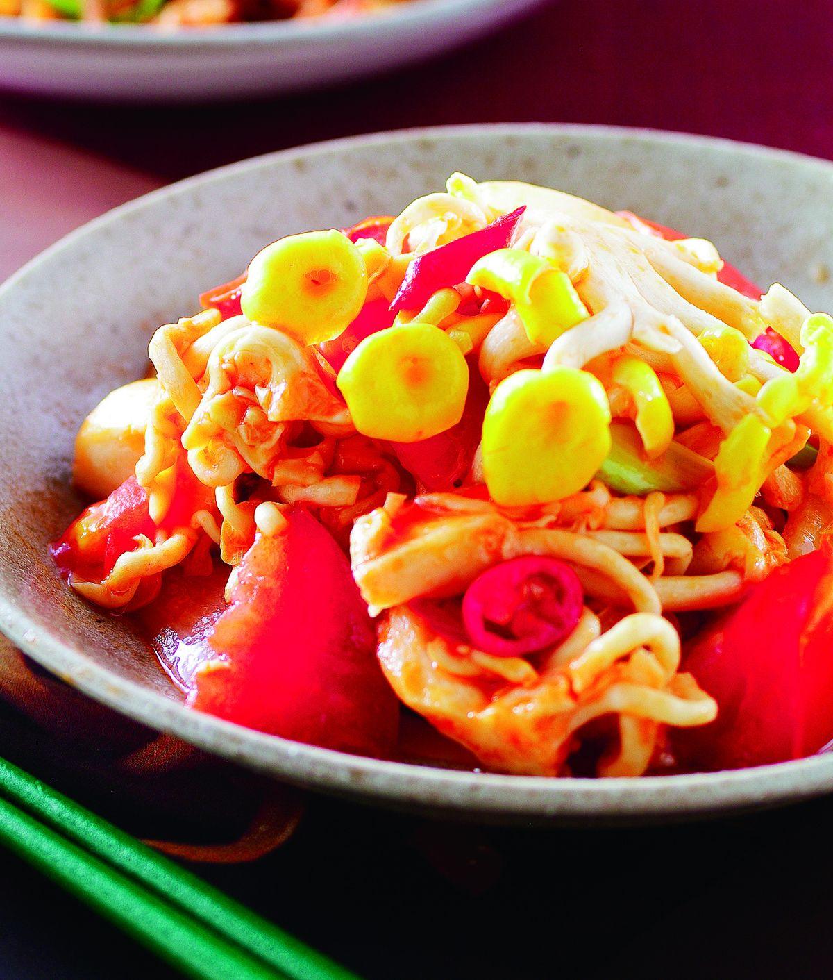 食譜:糖醋珊瑚菇