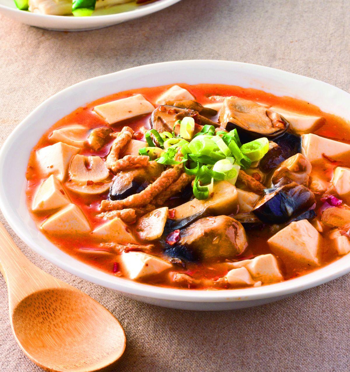食譜:素麻婆豆腐