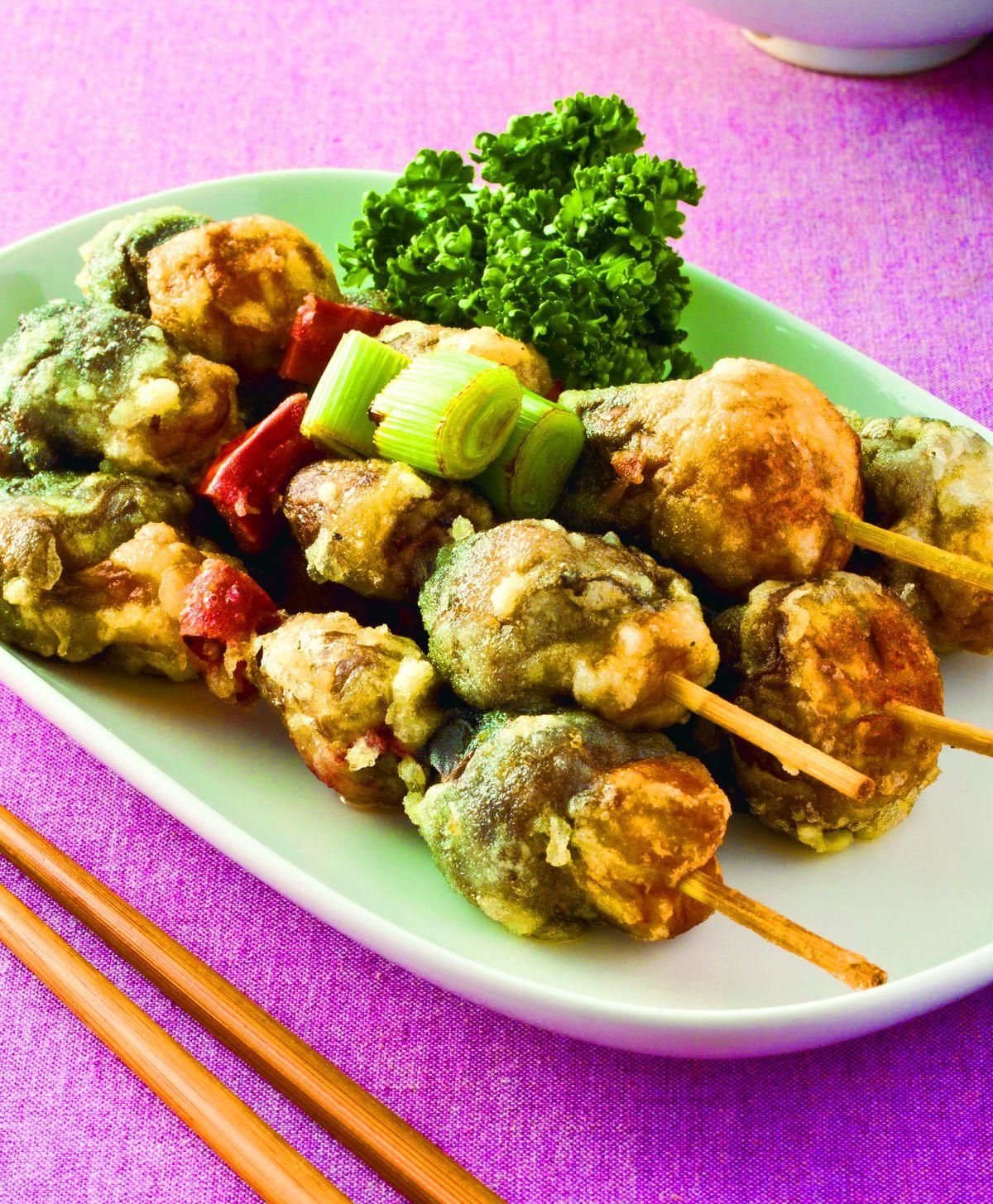 食譜:炸草菇