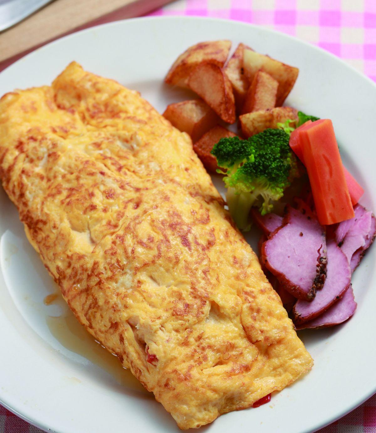 食譜:美式蛋捲(1)