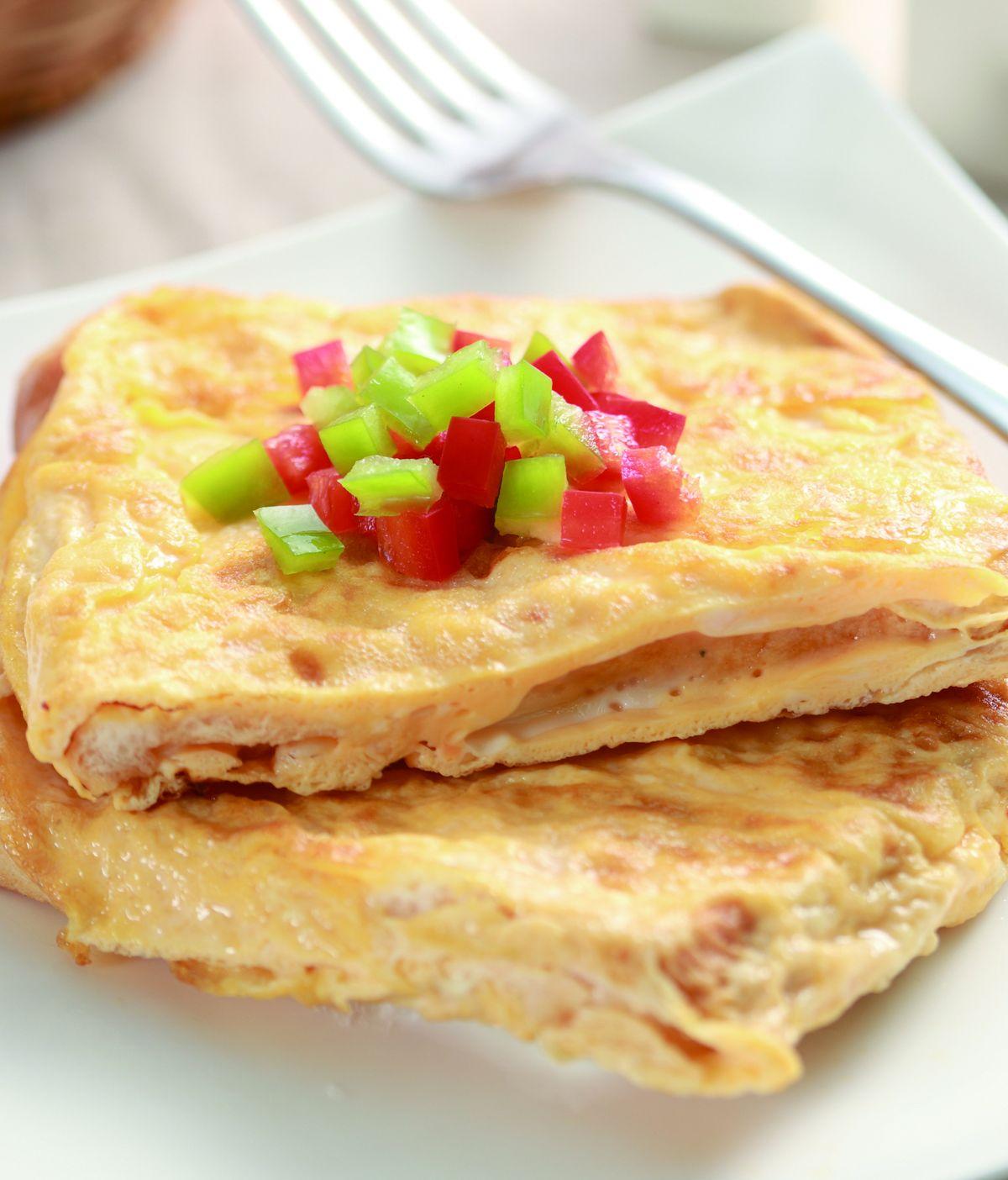 食譜:印度麵包蛋卷