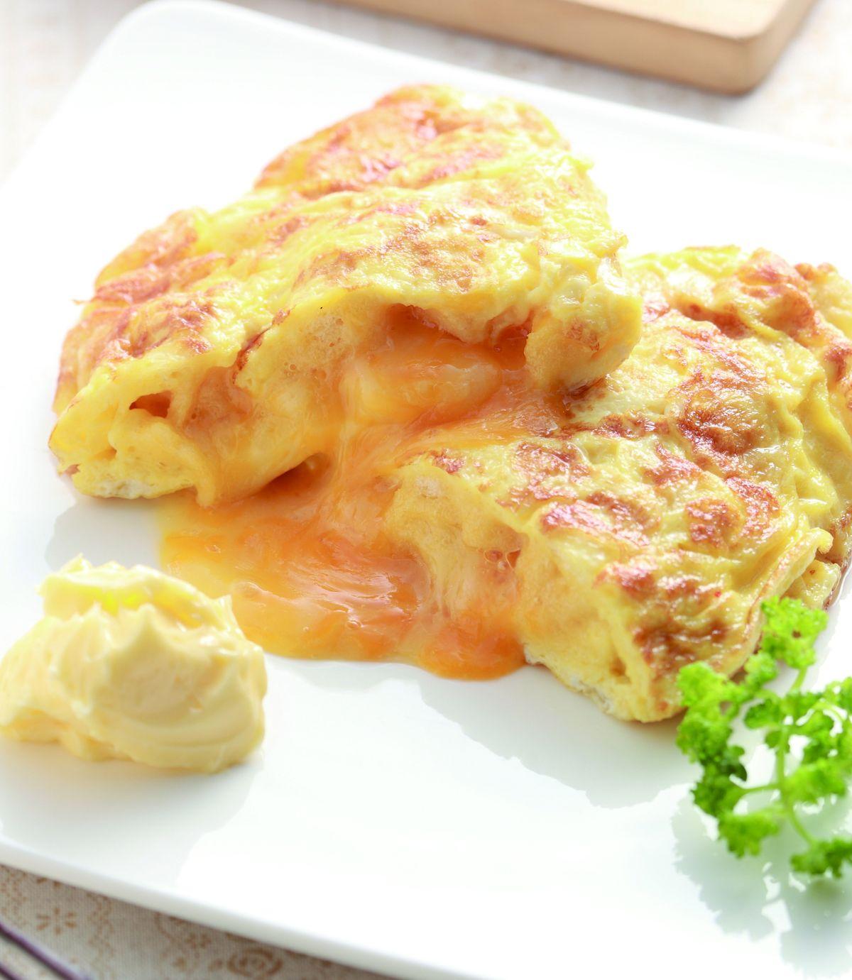 食譜:起司麵包丁煎蛋