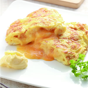 起司麵包丁煎蛋