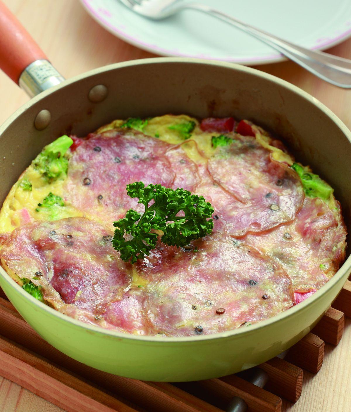 食譜:義大利沙拉米煎蛋