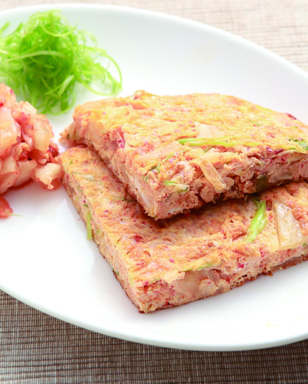 食譜:韓式泡菜蛋餅