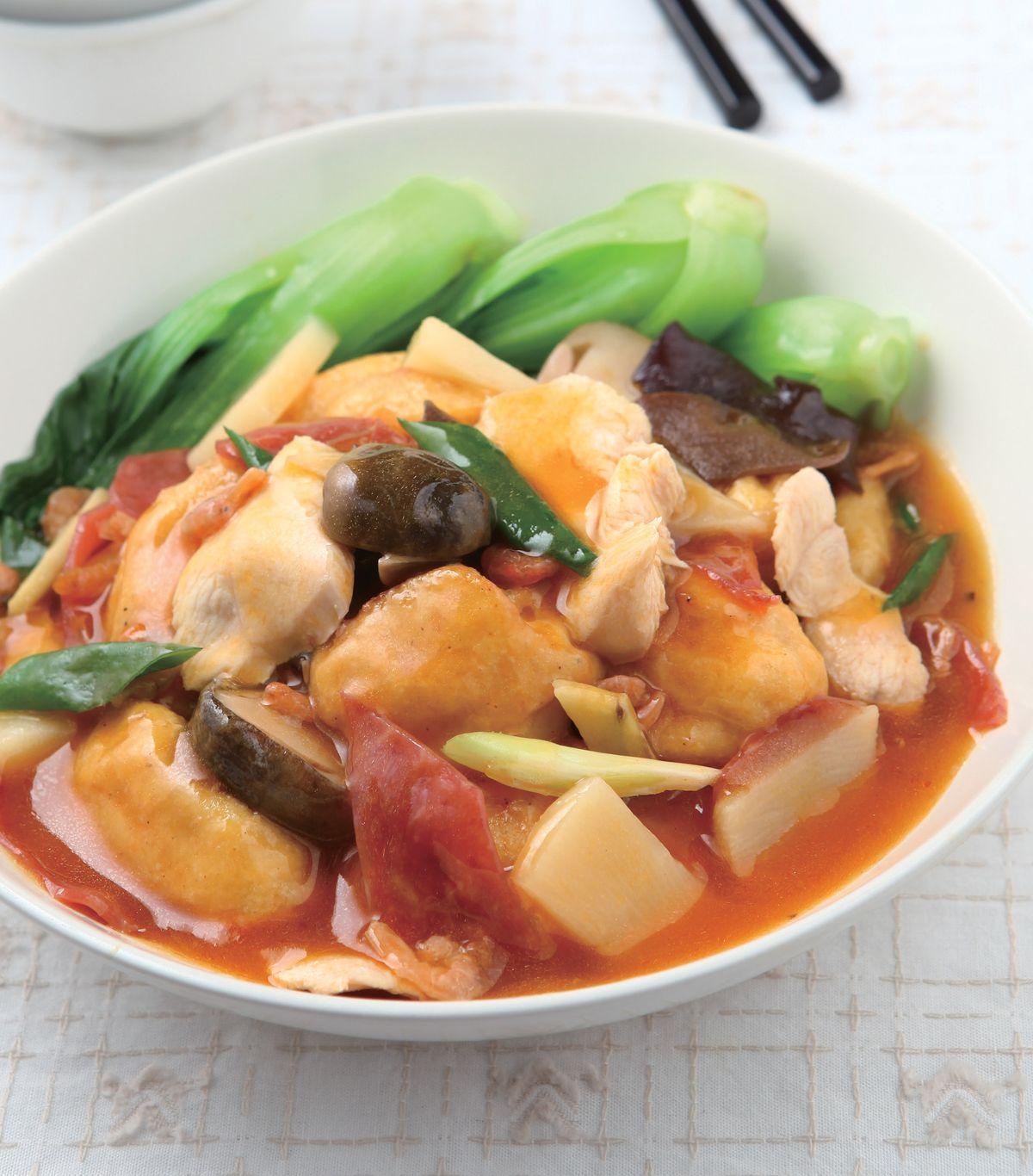 食譜:口袋豆腐(2)