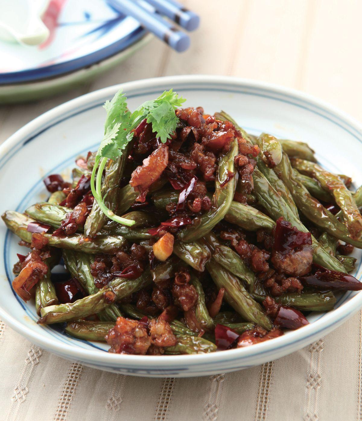 食譜:乾煸四季豆(9)