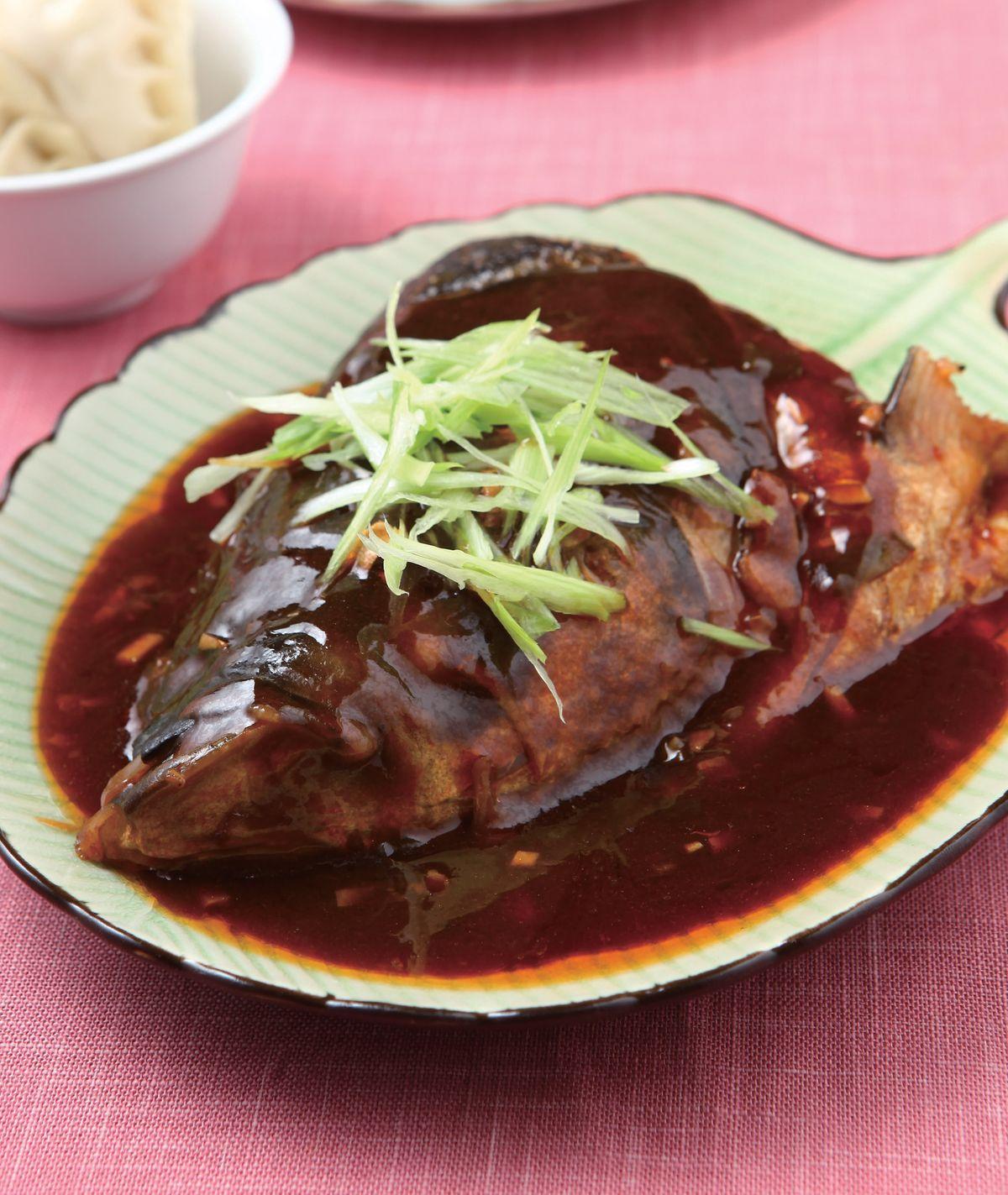 食譜:醬燒魚頭