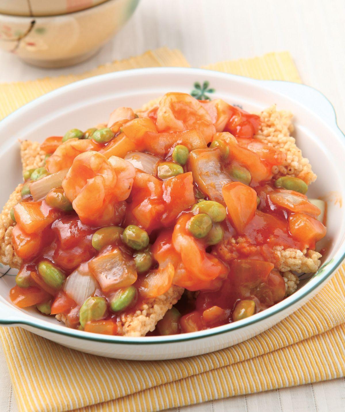 食譜:鍋巴蝦仁(1)