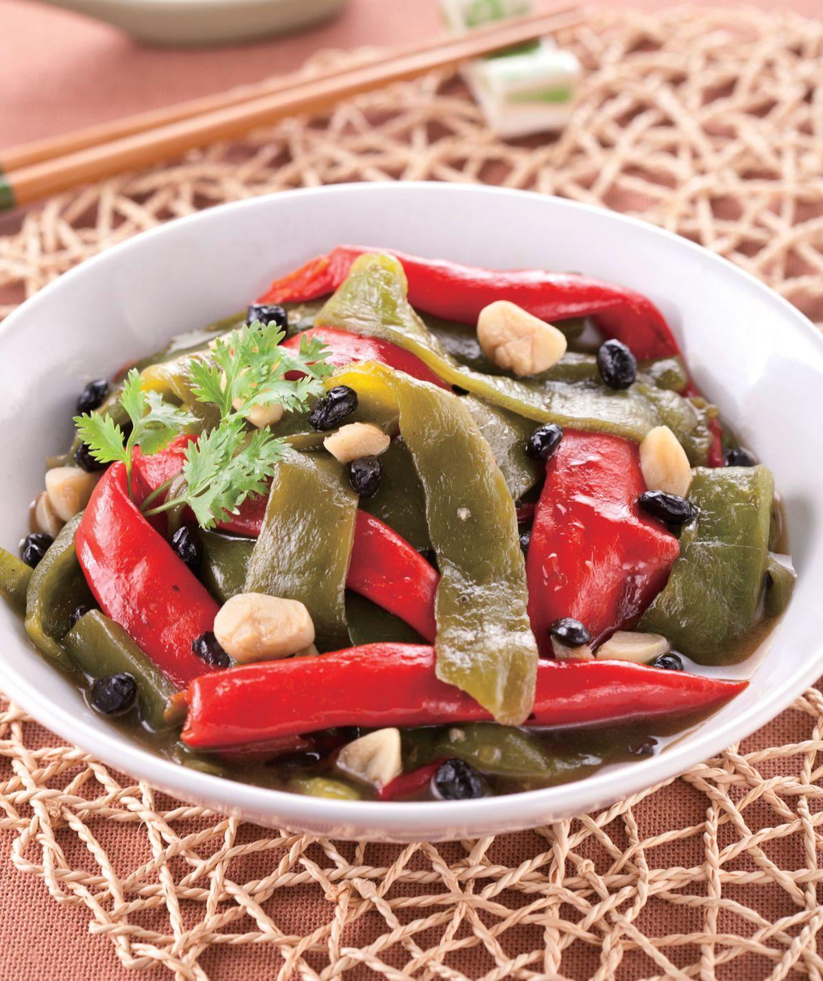 食譜:紅燜青紅椒