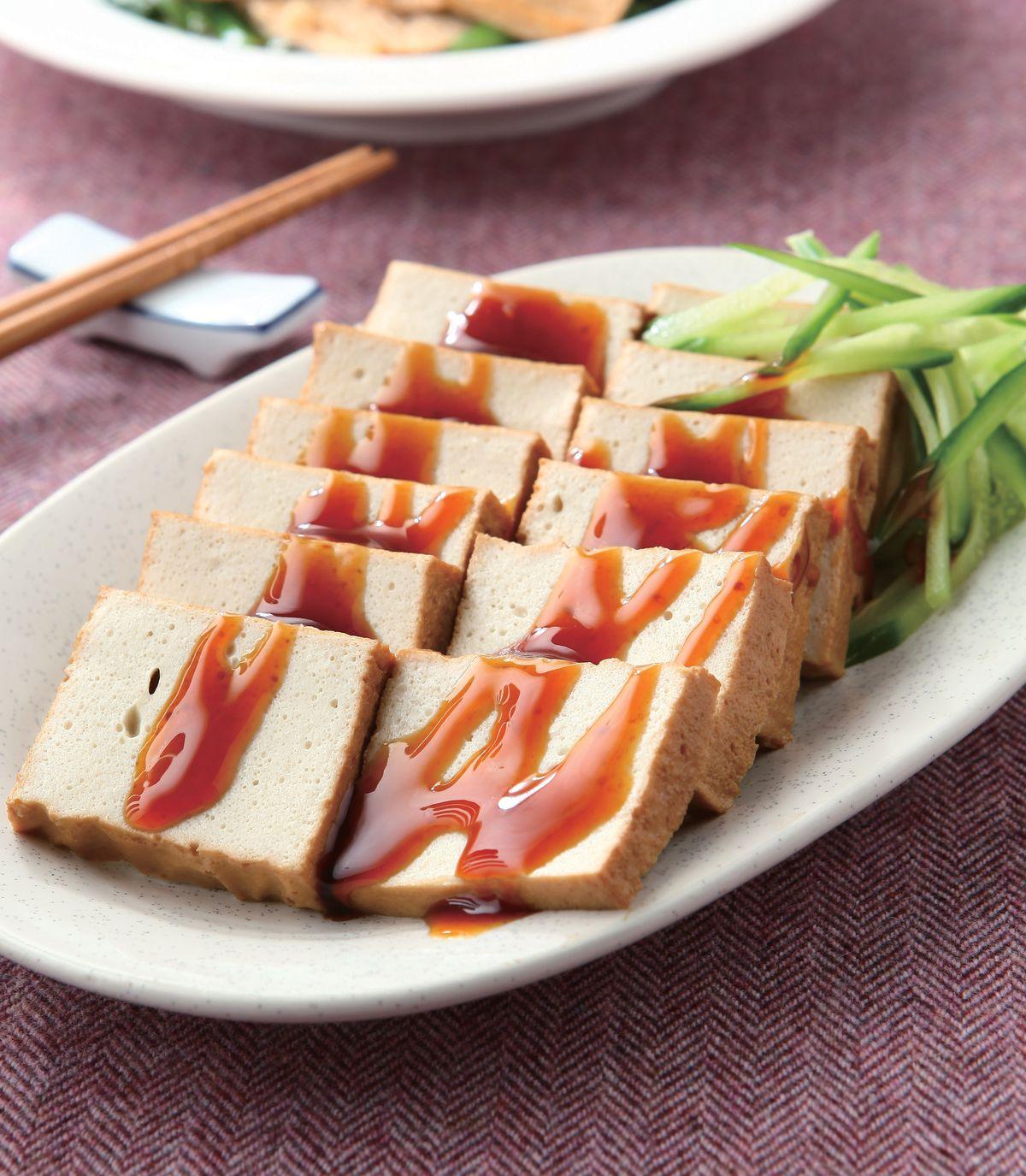 食譜:香滷百頁豆腐