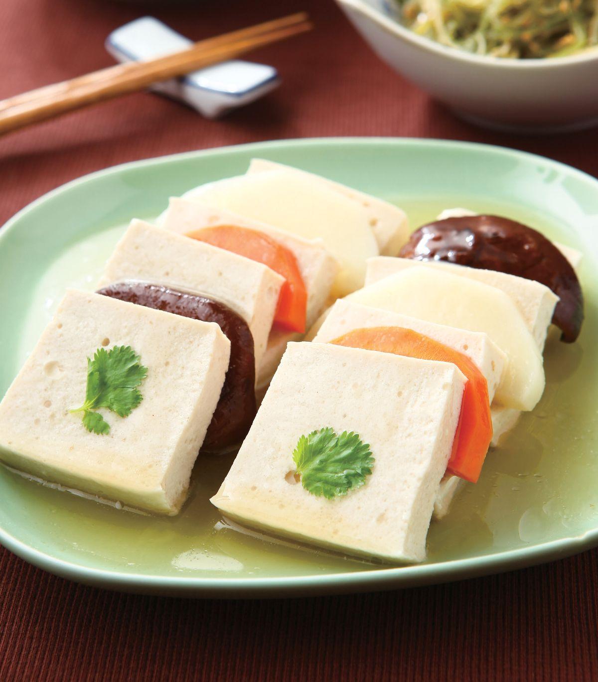 食譜:蒸三色豆腐