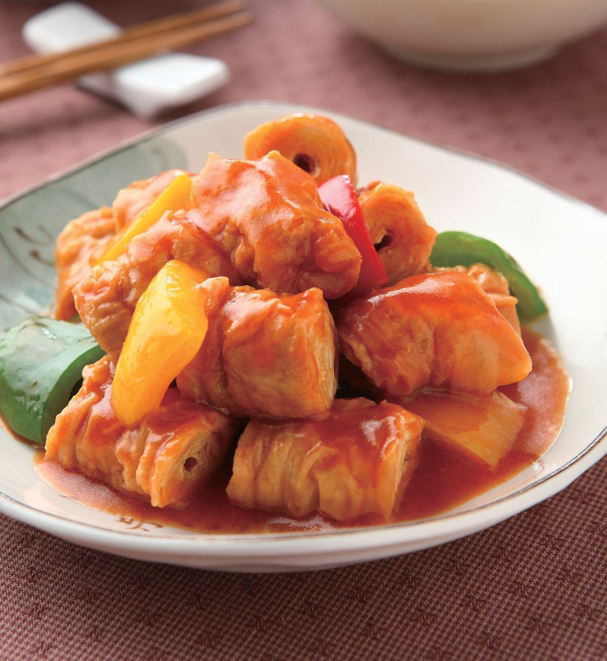 食譜:糖醋豆腸