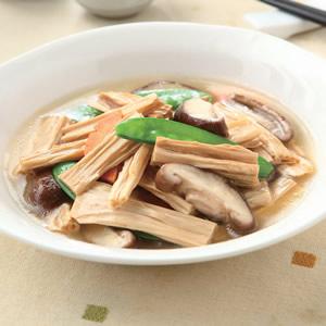 鮮菇燴腐竹
