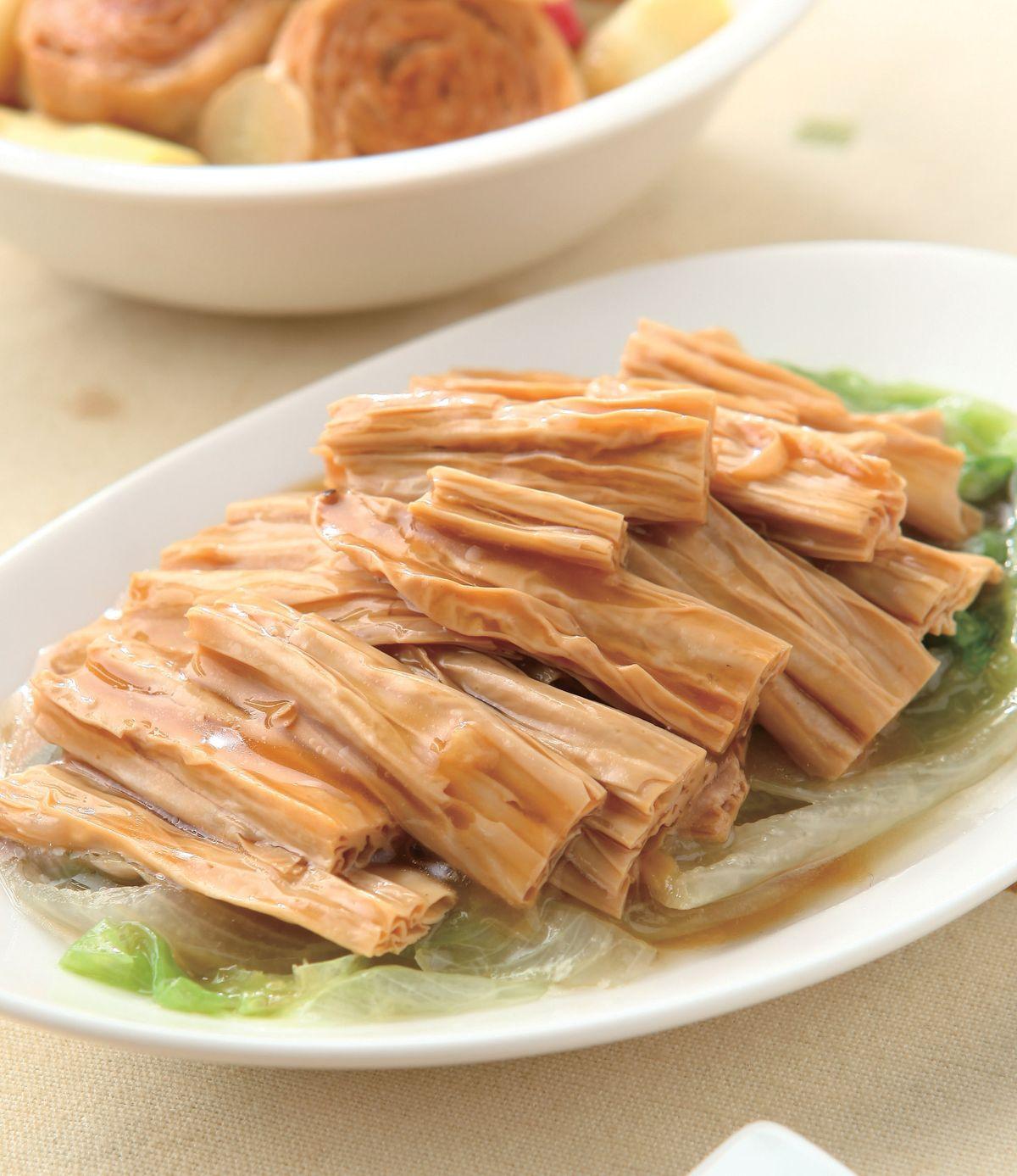 食譜:素蠔油腐竹