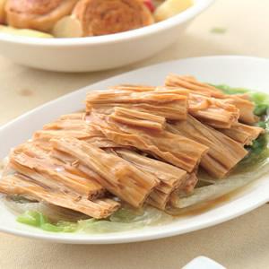素蠔油腐竹