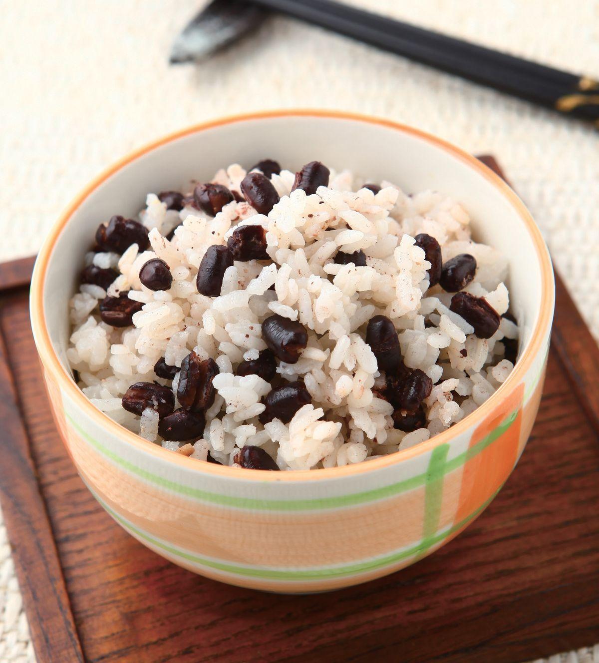 食譜:紅豆飯(2)