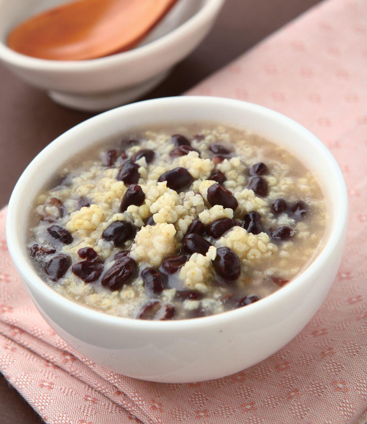 食譜:紅豆小米粥