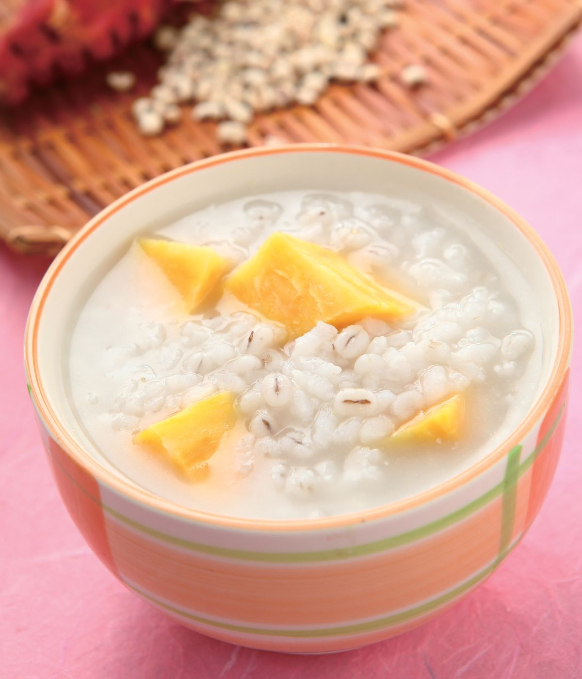 食譜:地瓜小薏仁粥(1)