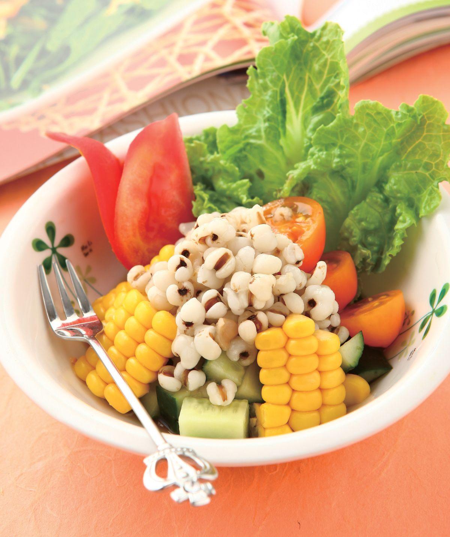 食譜:薏仁蔬果沙拉