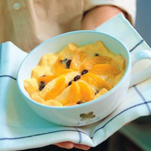 水蜜桃土司布丁(1)