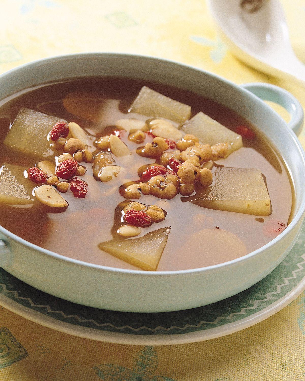 食譜:冬瓜蓮葉湯