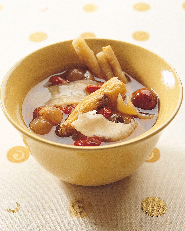 食譜:補氣長壽湯