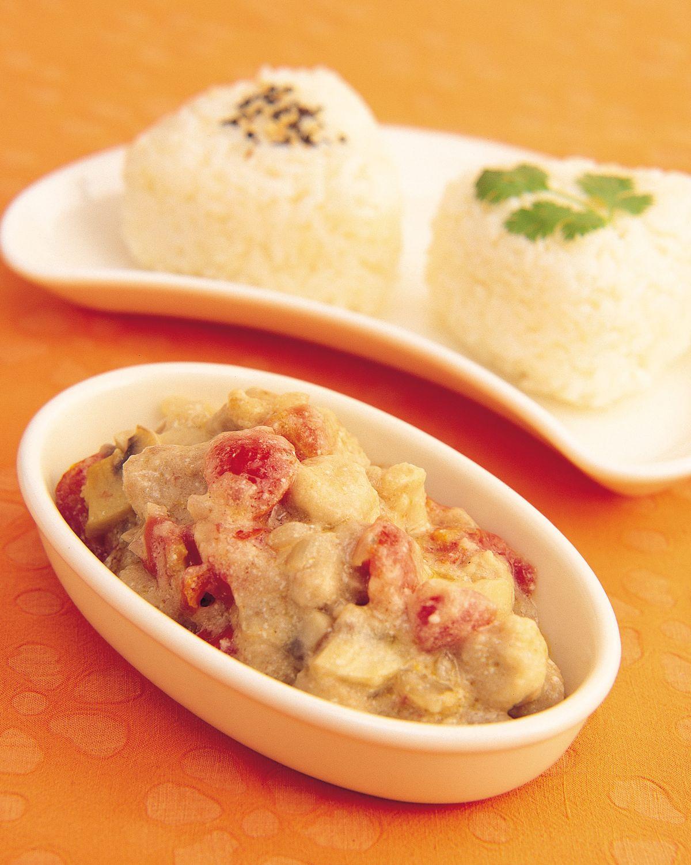 食譜:優格豬肉燴飯