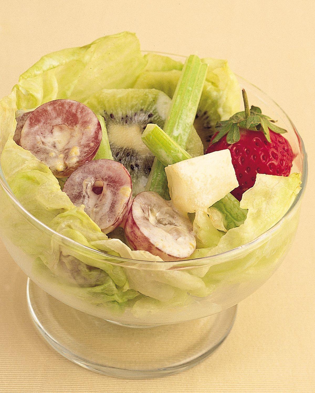 食譜:核桃蔬果沙拉