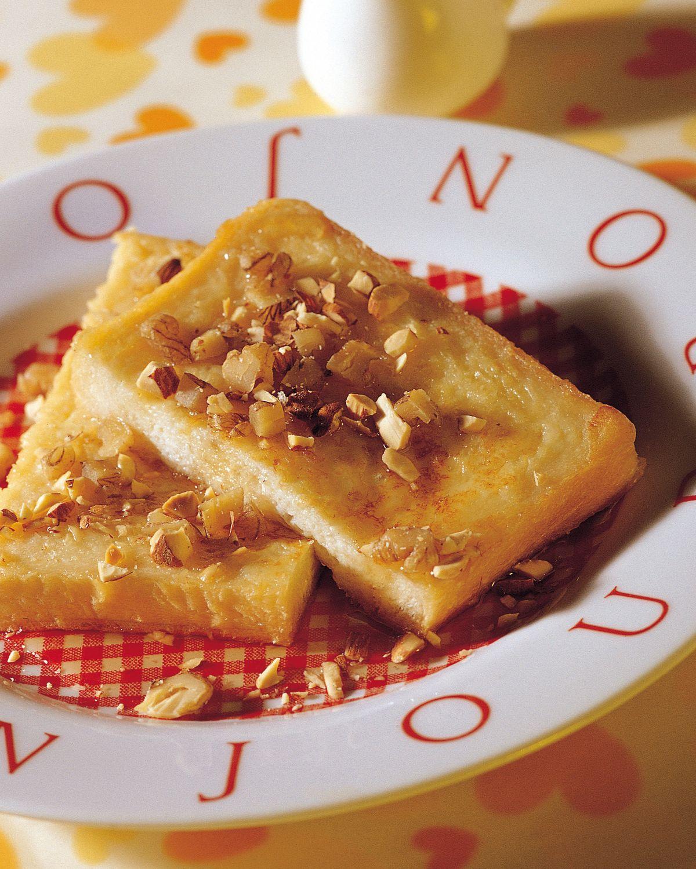 食譜:法式楓糖漿土司