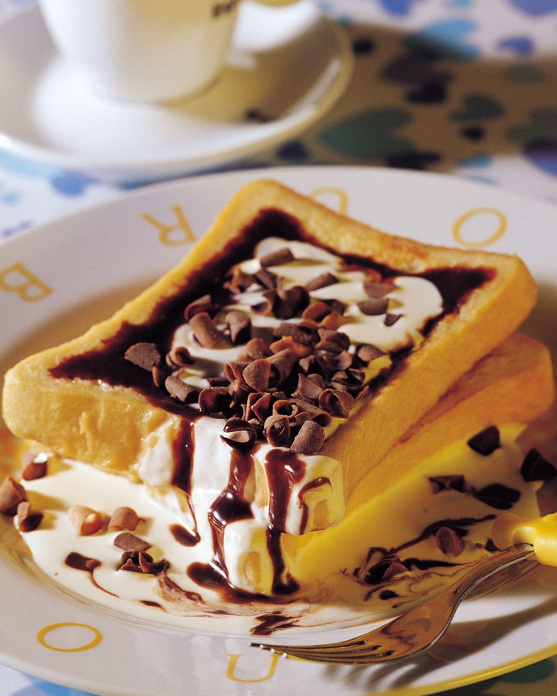 食譜:法式巧克力土司