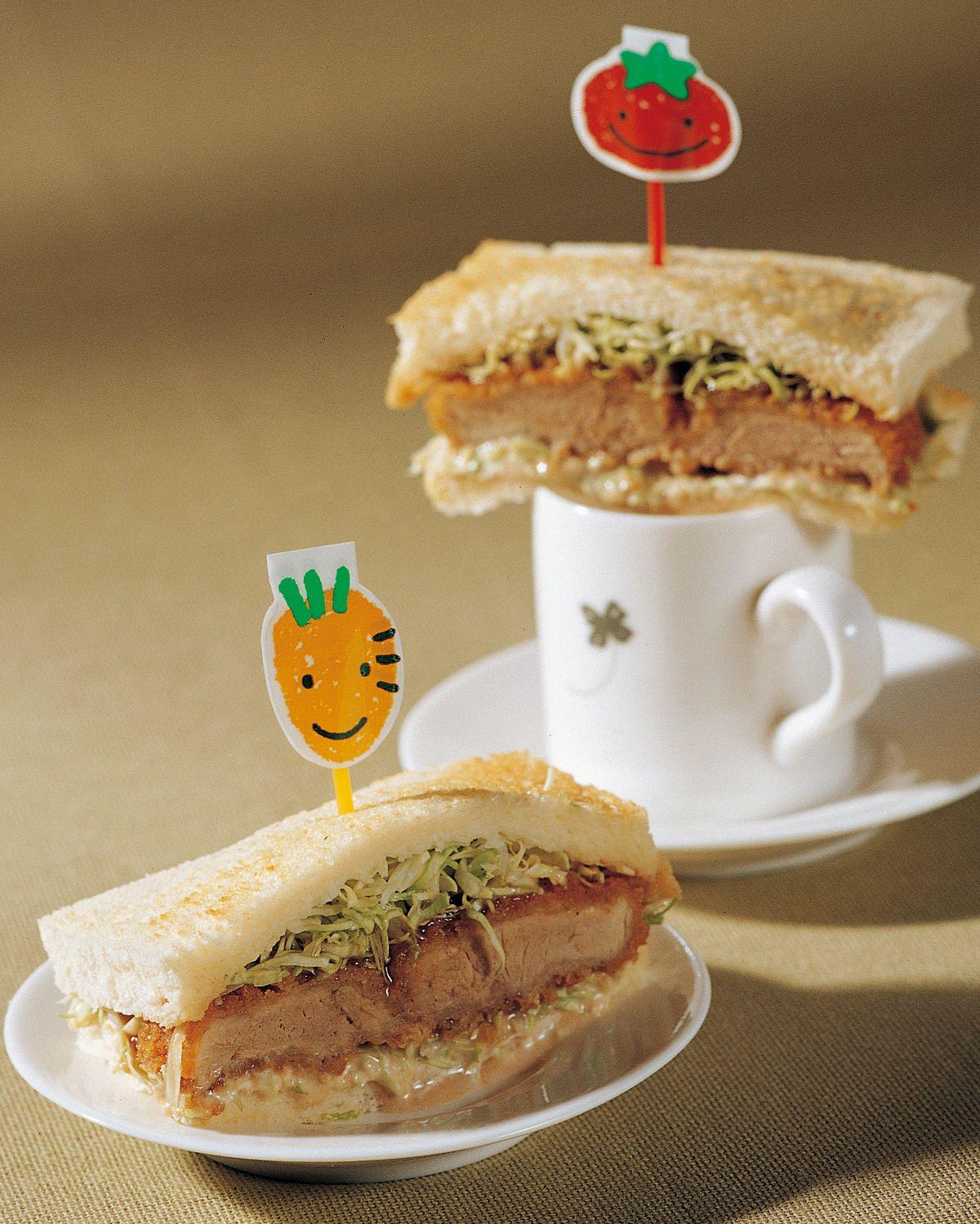 食譜:日式炸豬排三明治