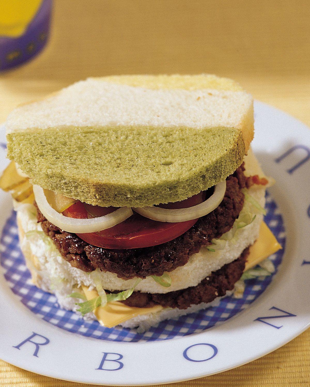 食譜:美式牛肉土司堡
