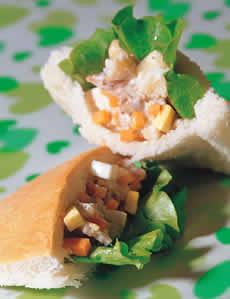 食譜:雞肉沙拉口袋餅