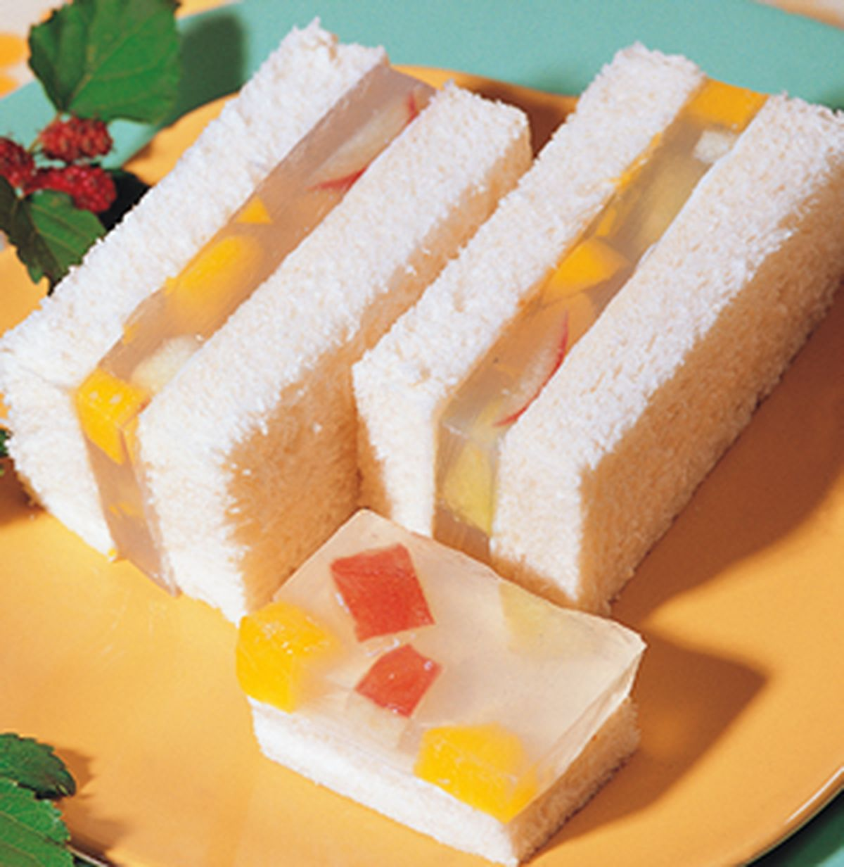 食譜:果凍三明治