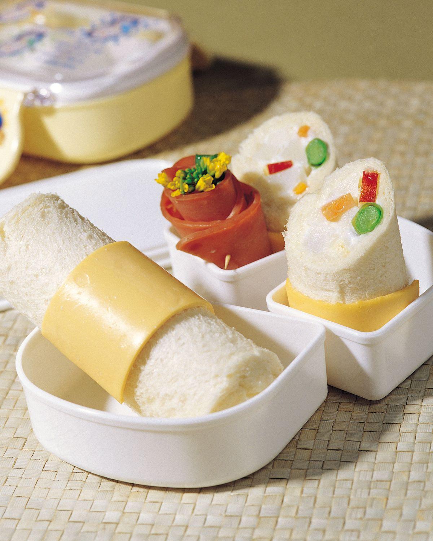 食譜:腰帶土司卷