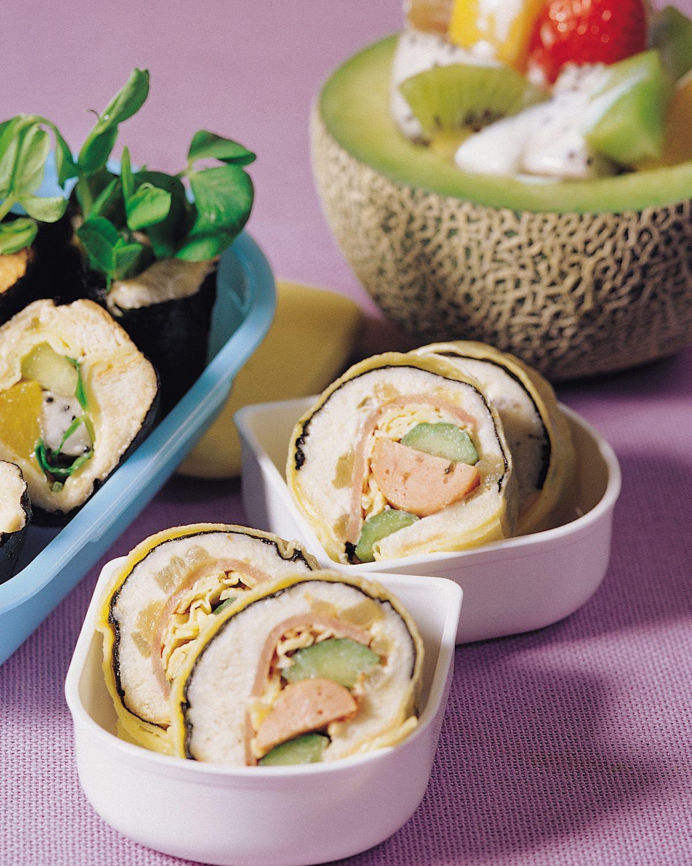 食譜:壽司三明治