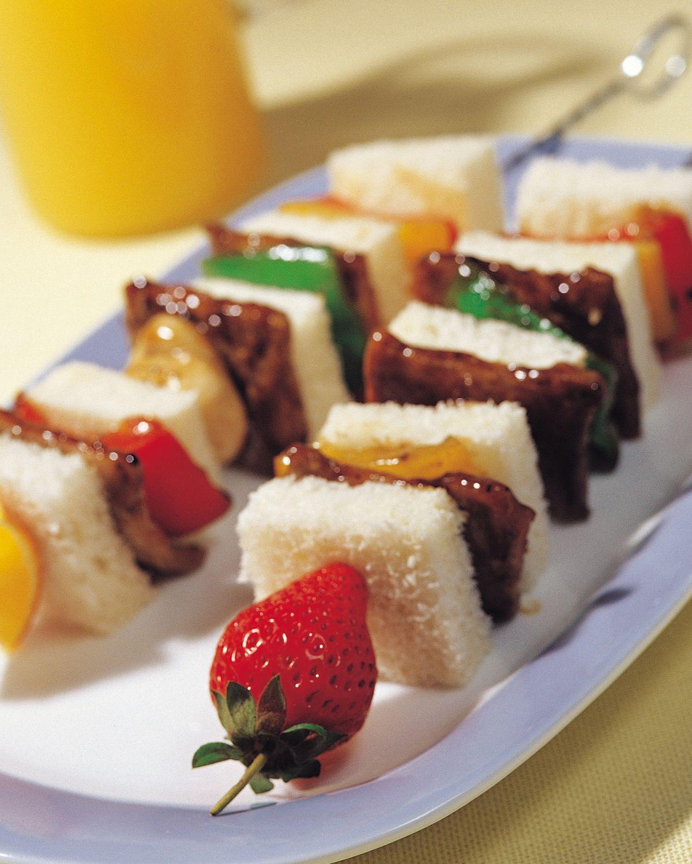 食譜:串燒三明治