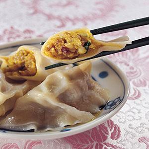 咖哩豬肉餃子餡