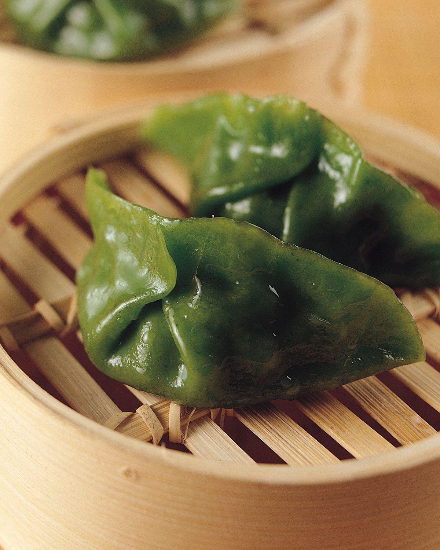 食譜:翡翠干貝蒸餃
