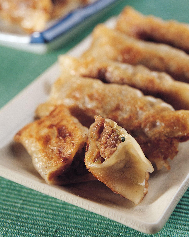 食譜:五香牛肉鍋貼