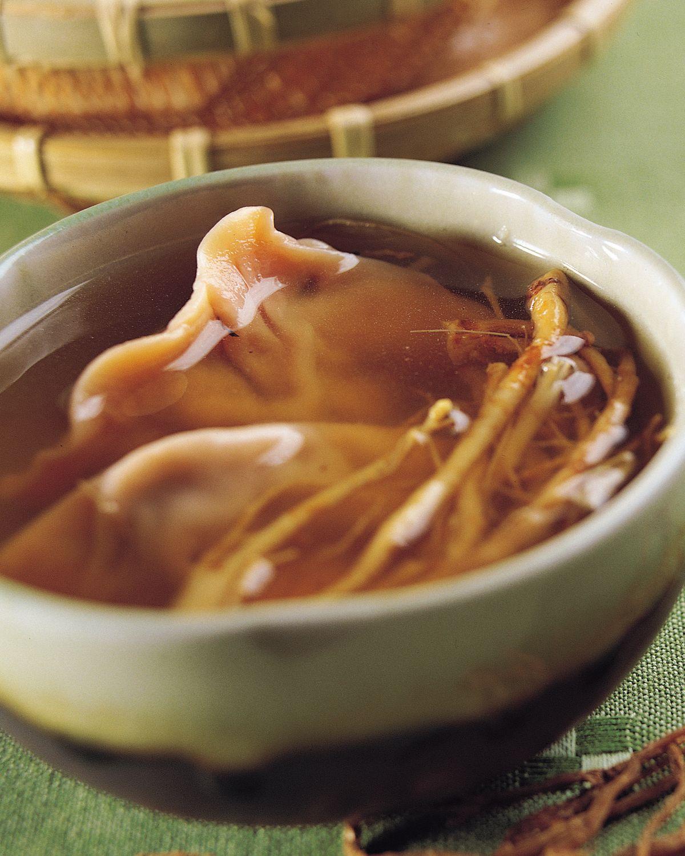 食譜:蔘茶燉湯餃