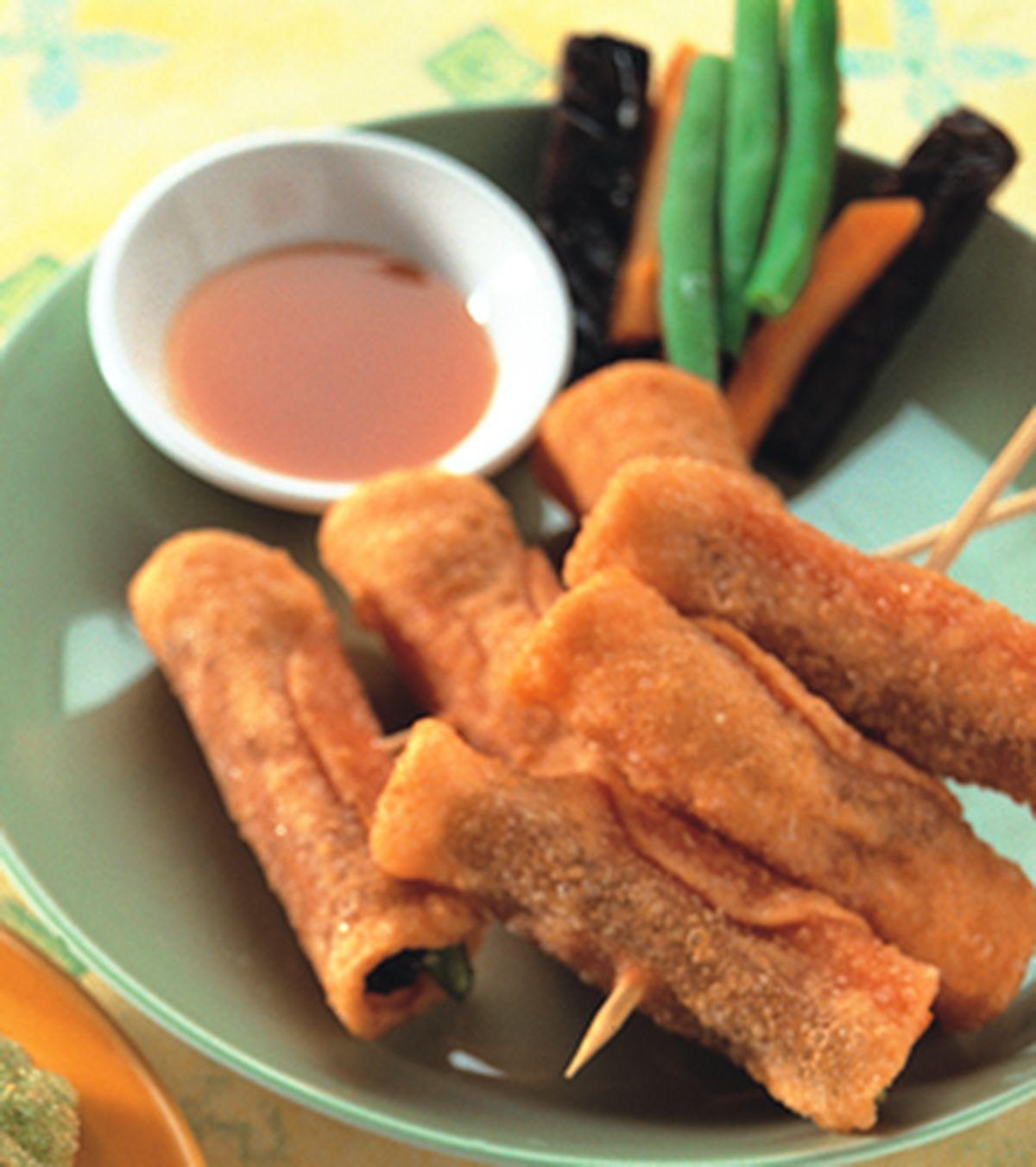 食譜:串酥捲