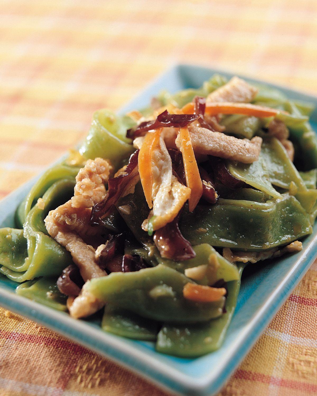 食譜:木須炒餃皮